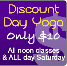 Discount Day Yoga